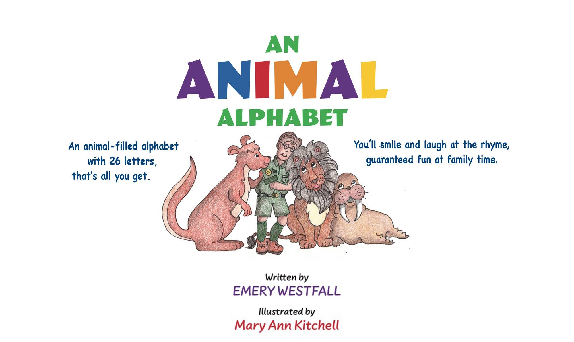 An Animal Alphabet Book Cover