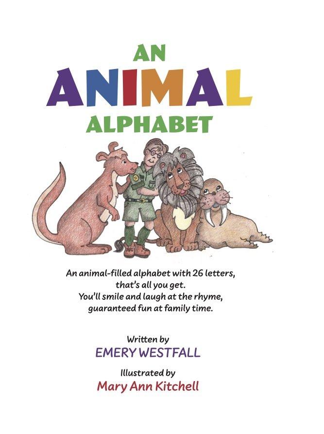 An Animal Alphabet Book Cover 1
